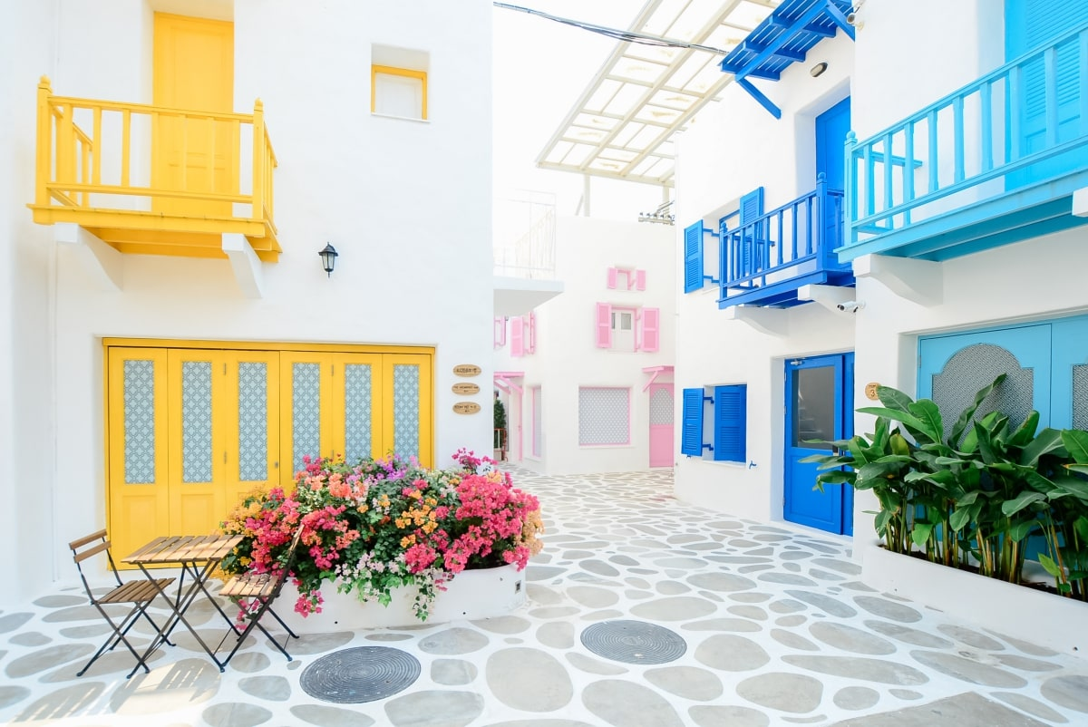 Outside common area pasion painting services